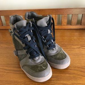 9e745154c Sam Edelman Shoes - Sam Edelman Willa Hidden Wedge Hightop Sneaker